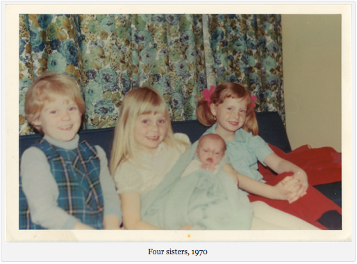 Four sisters, 1970
